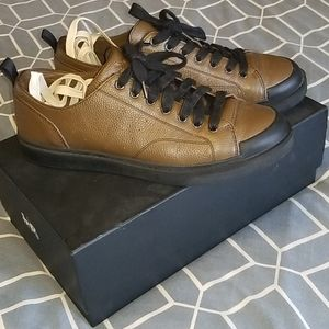 Leather Coach shoes